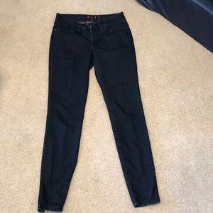 Elle stretchy denim dark blue skinny jeans